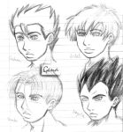 New DBZ-ish style? oh noes D: by genaminna