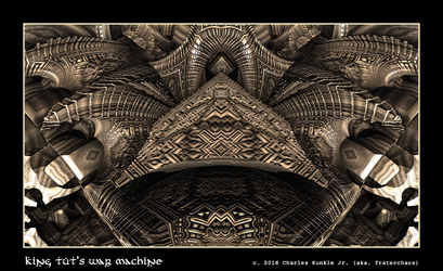 king tut's war machine by fraterchaos