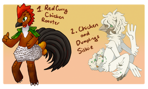 [Whifflings] Chicken Recipe Duo - CLOSED by mewhaku
