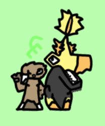 Nillian and Dialian! For YT profile picture! by CrookedEmerald