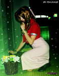 That flower blooming in the slums_Aerith by AiridAndKaitoCosplay