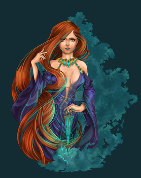 Circe - coloured by Etirtifma