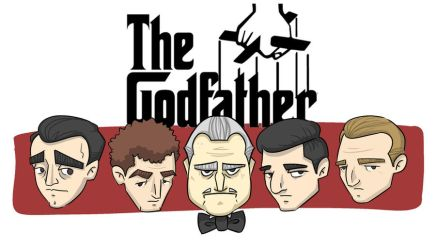 The Godfather faces by 8JR8