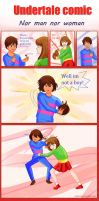 Undertale comic Nor man nor woman by atomicheartlight