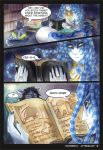 Waterway Afterglow pg. 8. by TiamatART