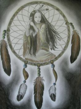 Dreamcatcher Girl by Jessito
