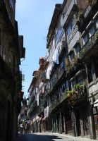Street - Porto - Portugal by UdoChristmann
