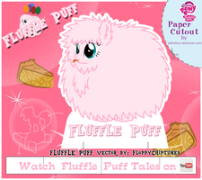 MLP Cut-out Fluffle Puff v2 by Jailboticus
