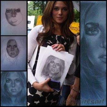 Meeting Ashley Greene by babygirlsart