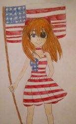 Asuka's 4th of July (Late) by TomboyJessie13