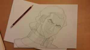 Kuvira Sketch by Forgotten-Eternity