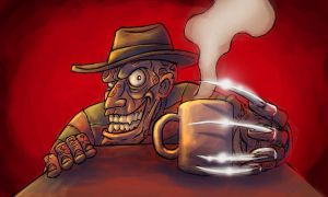 kaffe 01 freddy by Drago-the-Dark-Klown