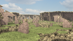 The Old Monastery Ruin by hypex2772
