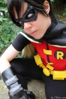 Robin cosplay- young justice by Tenraii