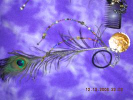 Hair pieces -close up by lacewing