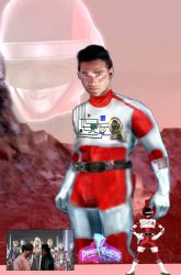 Power Rangers Bio Star: Victor Lee, Red One by LeveyYes