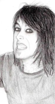 Ronnie Radke by x-kai-kai-x