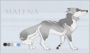 Malena Reference Sheet by Pinky-Poodle