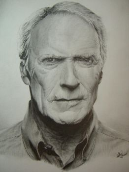 Clint Eastwood by Dustboy76