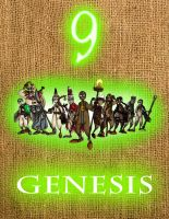 'Genesis' Cover Design by KRRouse