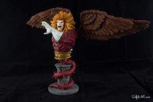 [Garage kit painting #09] Griffin bust - 002 by DasArt