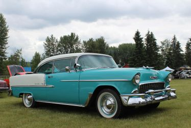 Turquoise '55 by KyleAndTheClassics