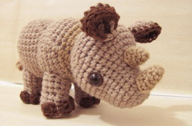 Little Rhylie the Rhino by SNCxCreations
