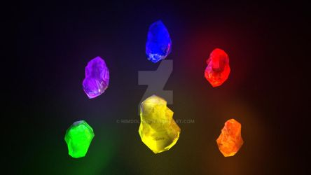 Infinity Stones by Himdolion