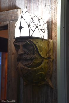 Sun King sconce Alight by nightserpent