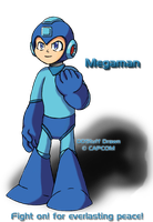 Fight On Megaman by DDStuff