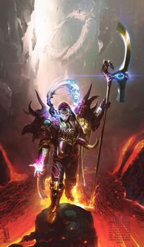 The XV Primarch by saint-max