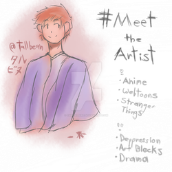 Meet The Artist! by ChrisAlaire