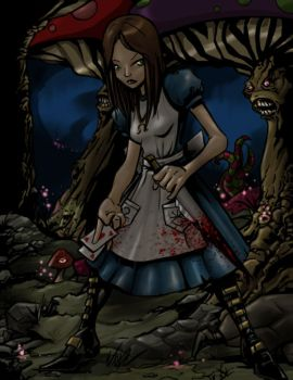 American Mcgee's Alice by BaneNascent