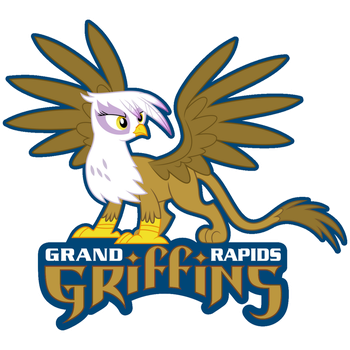 Grand Rapids Griffins by LyraHeartstrngs