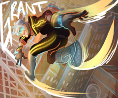 grant doing a thing by Seccae