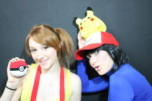 Misty ans Ash by LuffySwan