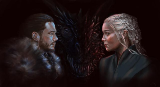 The wolf and the dragon by LiviaWeasley