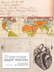 February Paper Textures by mellowmint