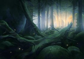 Forest by Minnhagen