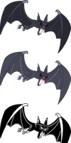 Evil Vampire Fruit Bat by imageconstructor