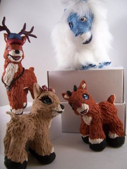 Rudolph and Friends by customlpvalley