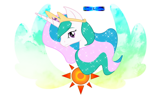 A picture of Celestia - without text by BoomerXBubbles