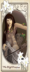 Tarot Card project : The Lovers by r23458
