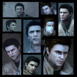 Silent Hill Faces : Alex Shepherd by rollerfan222