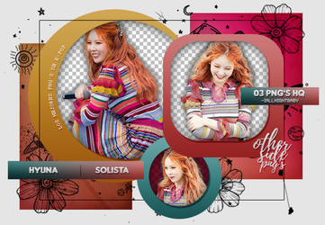 PACK PNG #83| HYUNA by iAllNightBaby