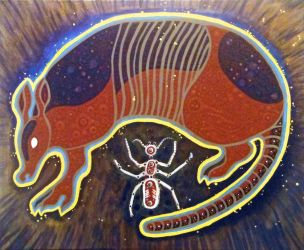 Armadillo and the Ant by Tomolan