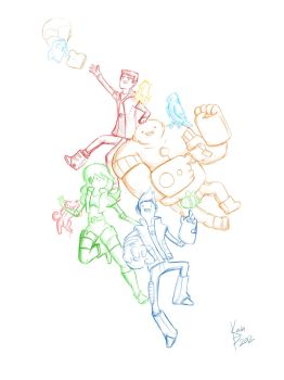 The Bravest Warriors by AHalfEatenTwinky