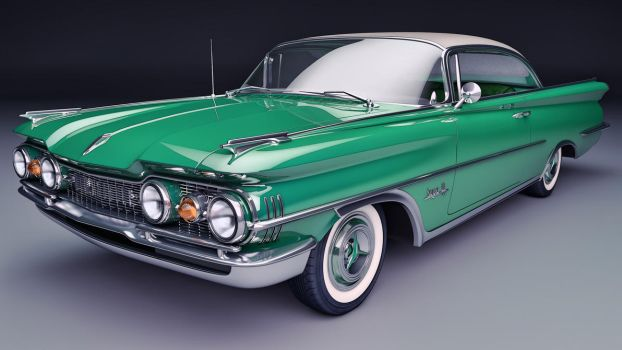 1959 Oldsmobile Super 88 Coupe by SamCurry