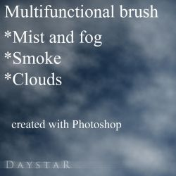 Mist/fog/smoke/cloud brush by Muse-of-Stock