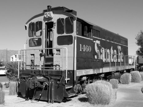 Santa Fe 1460 black and white by Transportphotos